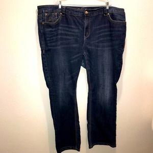 Melissa McCarthy Seven7 Skinny Jeans Size 28W